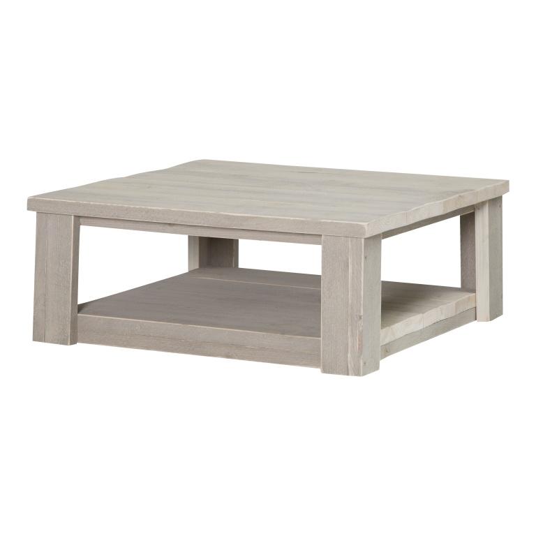 Steigerhouten salontafel zand 57 x 57 x 30 cm