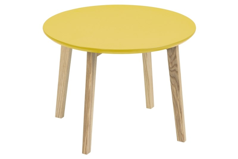 Bijzettafel Cholin geel