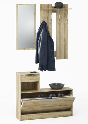 Halmeubel Clothhangers Eiken