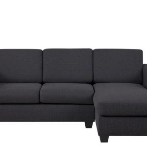 Chaise Longue Findi rechts antraciet