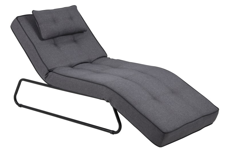 Chaise Longue Known grijs