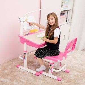 Kinderbureau roze
