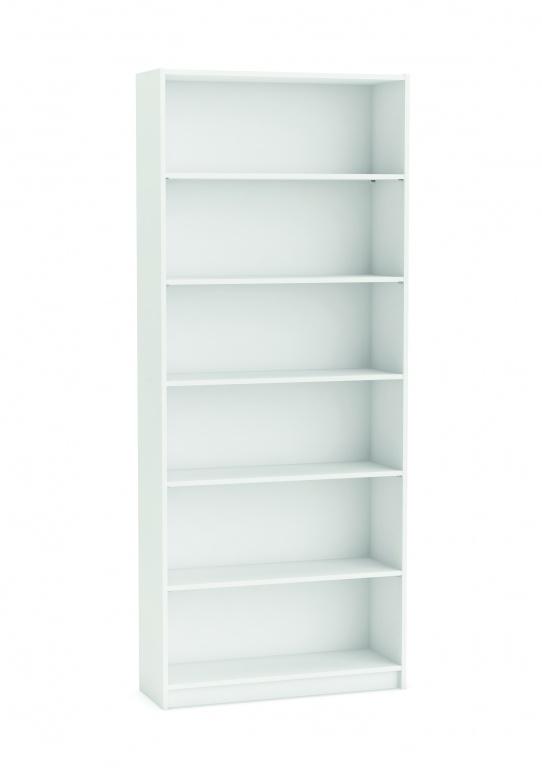 Boekenkast Blanco wit 80 cm