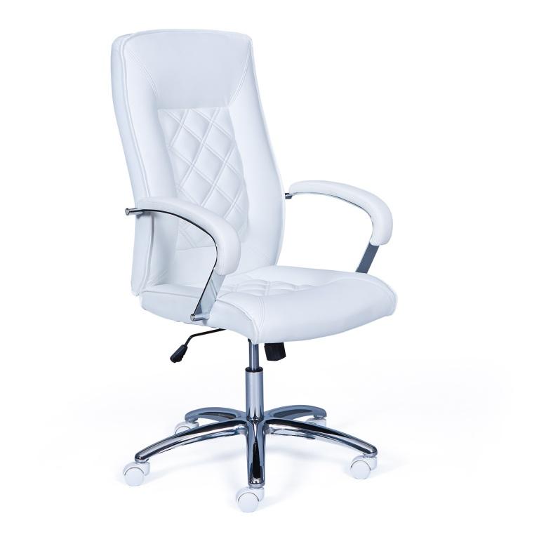 Alessia revolving chair Alessia white / chrome