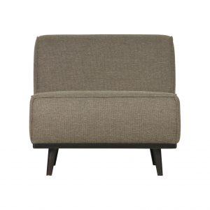 BePureHome Statement fauteuil groen stof