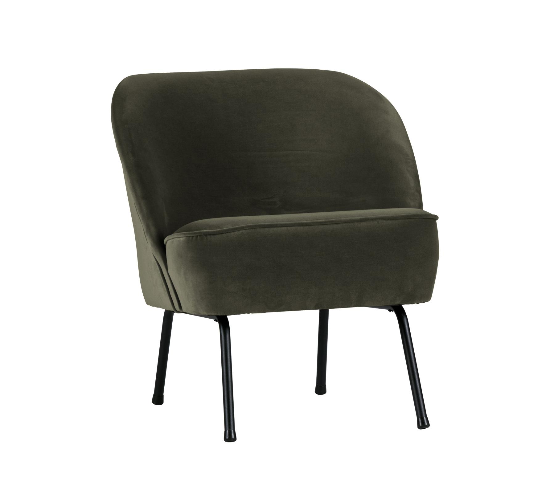BePureHome Vogue fauteuil onyx Velvet