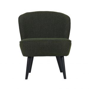 Basiclabel Pyke fauteuil groen Donkergroen