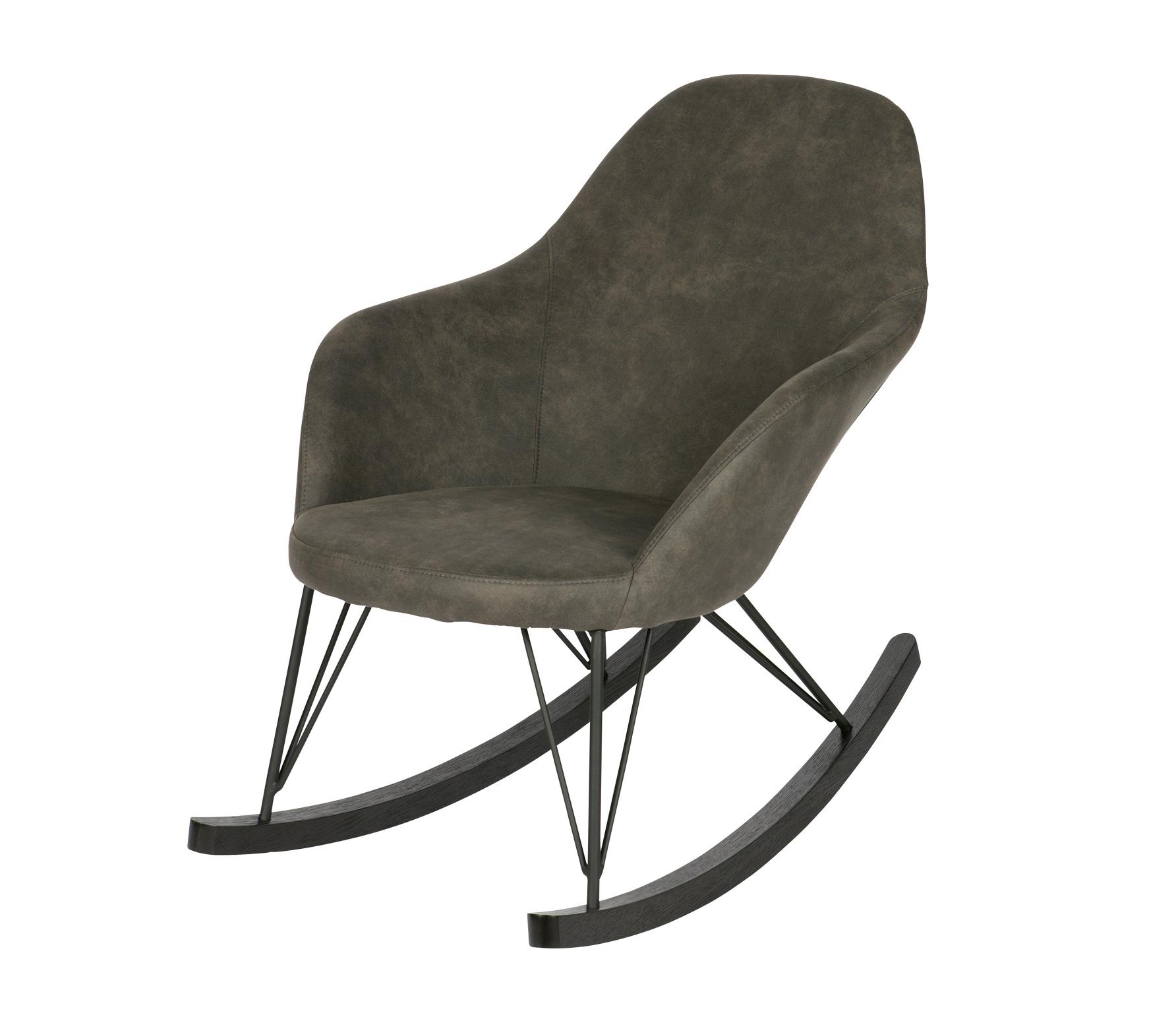 BePureHome Rock schommelstoel zwart Zwart