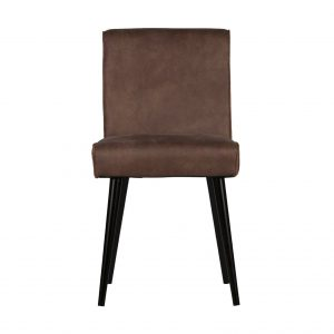 BePureHome Revolution eetkamerstoel chocolade Recycle leer