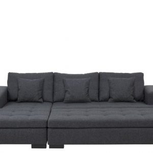 Driezitsbank Zowie met Chaise Longue links