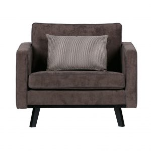 BePureHome Rebel fauteuil warmbruin Warmbruin