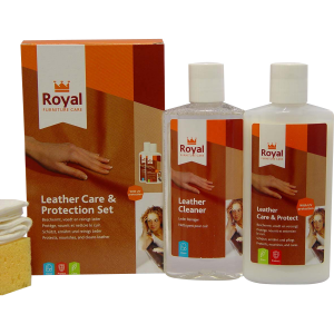 Leather Care Kit - Care & Protect 2x75ml