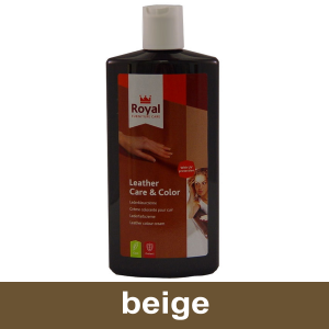 Leather Care & Color Beige
