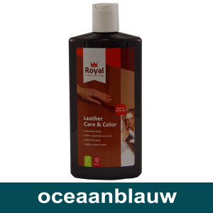 Leather Care & Color Oceaan blauw