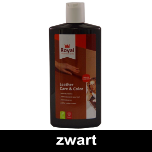 Leather Care & Color Zwart