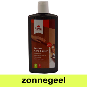 Leather Care & Color Zonnegeel