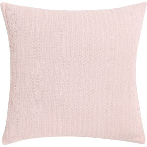 Kussen Cable weave soft pink